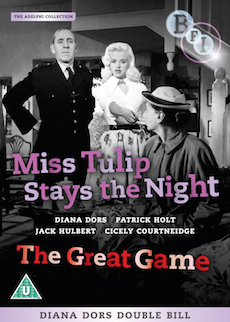 Buy Miss Tulip Stays the Night + The Great Game on DVD and Blu Ray