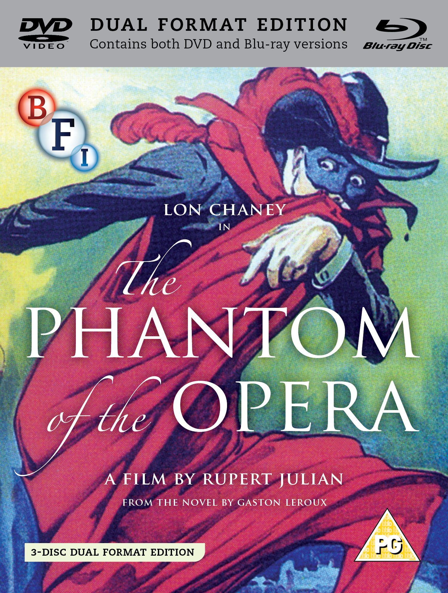 Buy The Phantom of the Opera on DVD and Blu Ray