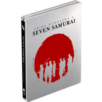 Buy Seven Samurai limited edition Blu-ray steelbook on DVD and Blu Ray