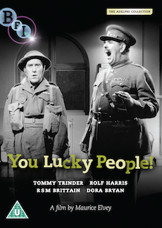 Buy You Lucky People! on DVD and Blu Ray