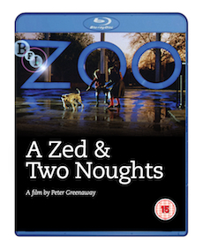 Buy A Zed and Two Noughts on DVD and Blu Ray