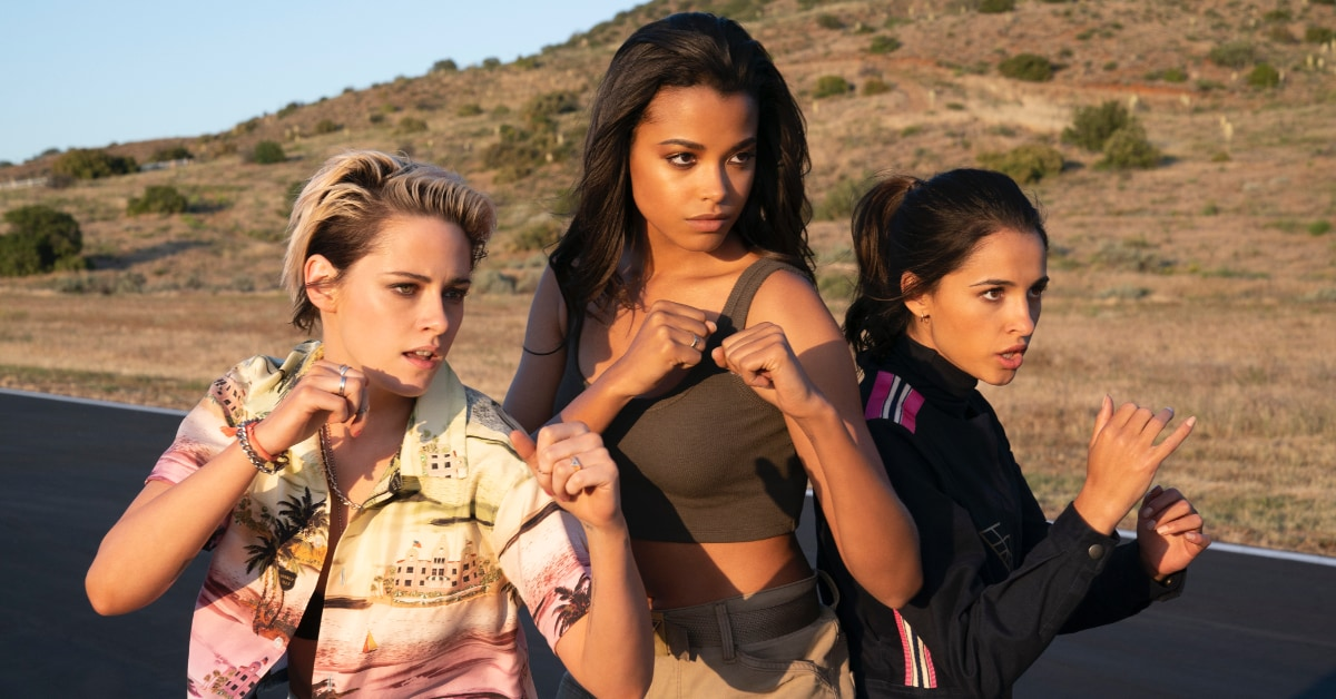 Charlie's Angels review: Kristen Stewart's minxy turn elevates this glitzy thriller   Sight & Sound.