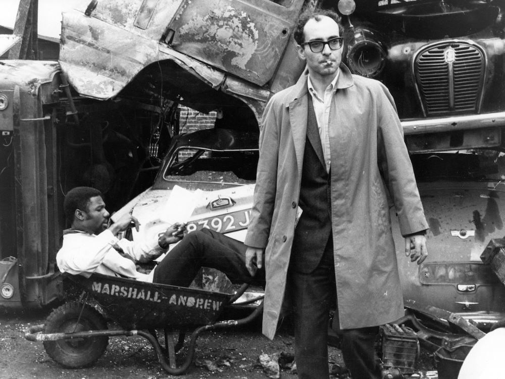 Gallery: Jean-Luc Godard at work in the 1960s | BFI