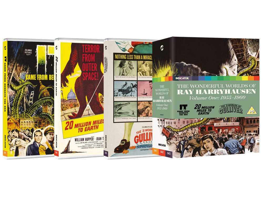 win a collection of ray harryhausen 39 s films on blu ray sight sound bfi. Black Bedroom Furniture Sets. Home Design Ideas