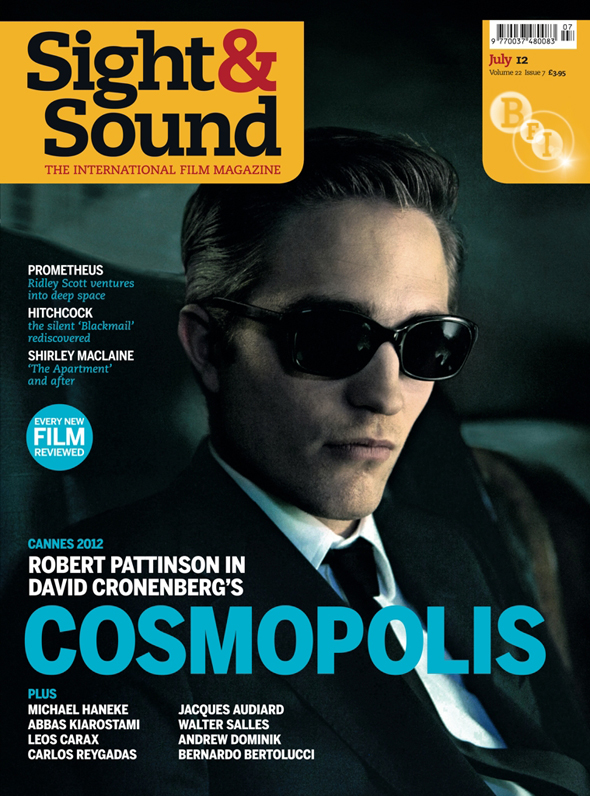 Sight and Sound cover July 2012
