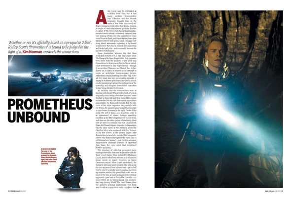 Sight and Sound Prometheus feature