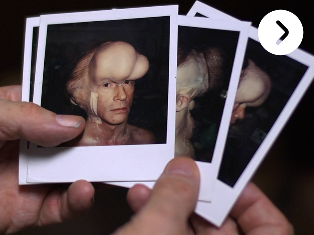 Image result for the elephant man makeup transformation