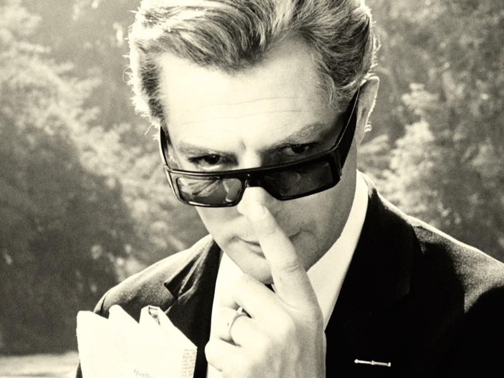 e8ff38507b 50 shades  cinema s greatest sunglasses. Are Marcello Mastroianni s ...