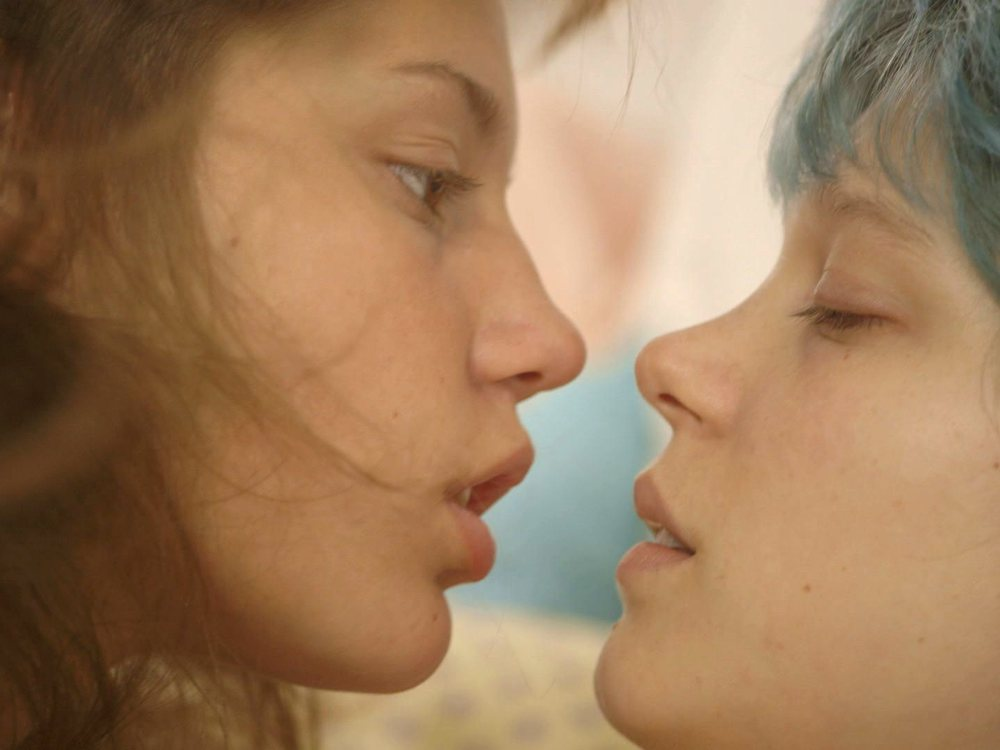 Up close and physical: Blue is the Warmest Colour - image