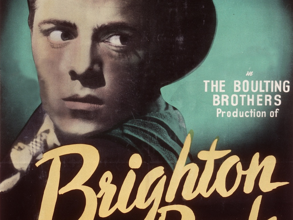 analysis of the movie brighton rock directed by john boulting Film noir series darkness & light documentary  the film's cinematographer was john alton, the creator of many of film noir's iconic images.