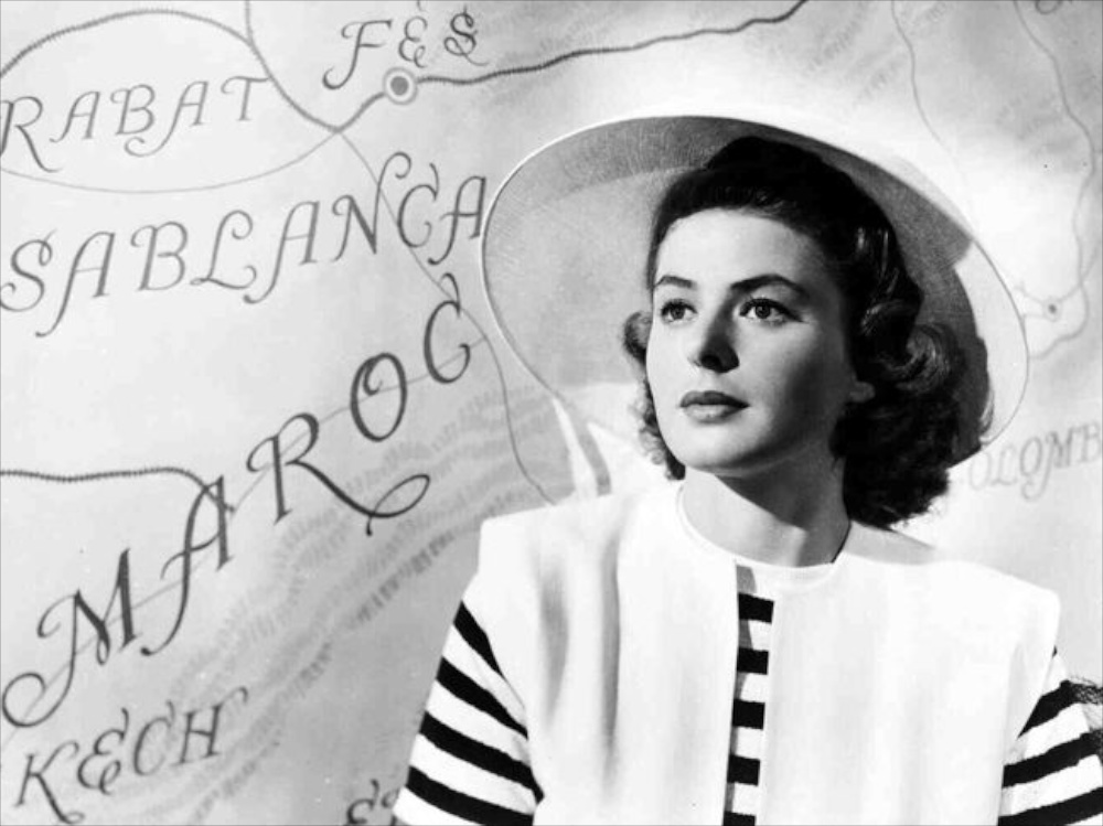 Ingrid Bergman youtube interview