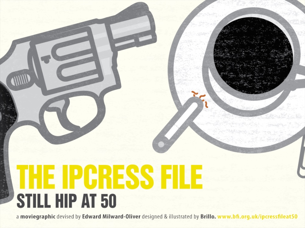 Moviegraphic: The Ipcress File - image