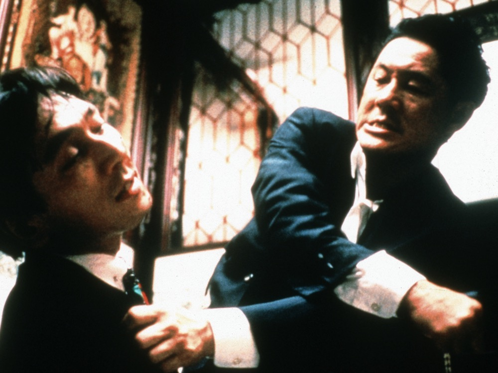 The man is violent: Takeshi Kitano's reinvention on screen