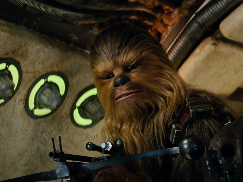 Five great scenes with Peter Mayhew as Star Wars' Chewbacca