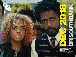 BFI Southbank December Guide calendar