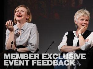 Member Exclusive Event feedback