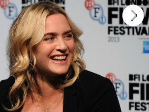 Video: Kate Winslet at the Labor Day press conference - image