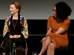 Video: Lesley Manville and Naomi Ackie at the BFI's Working Class Heroes day - image
