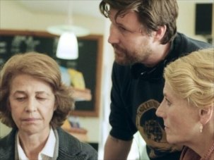 On-set photographs with Charlotte Rampling and Tom Courtenay in 45 Years - image