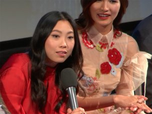 Video: Awkwafina and the cast of Crazy Rich Asians