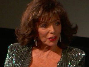 Video: Dame Joan Collins on The Fabulous Baker Boys