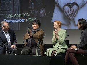Video: Tilda Swinton and Bong Joon-ho on Snowpiercer - image