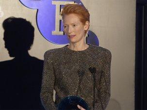 Video: Tilda Swinton receives a BFI Fellowship - image