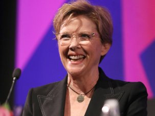 Listen to the actress: Annette Bening, directly