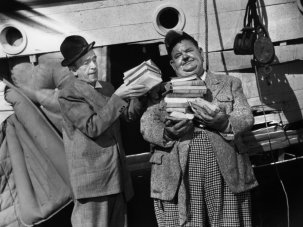 BFI screens long-lost Laurel and Hardy print - image