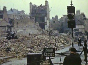 Why bomb Bath? – Blitzed cities captured on film - image