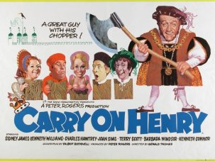 The risqué art of the Carry On poster