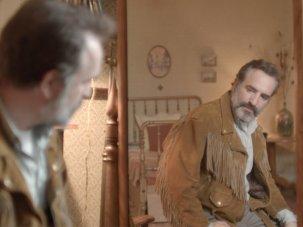 Deerskin first look: Jean Dujardin seeks one jacket to rule them all
