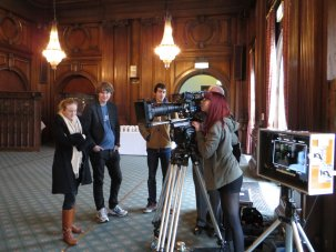 BFI Film Academy students visit Pinewood Studios - image