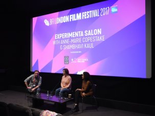 Listen to the 2017 BFI London Film Festival salons on artists' film - image