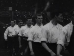 Watch the earliest known footage of England playing football - image