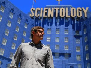 Louis Theroux: 'I don't want to just run up to Scientology and punch it on the nose' - image