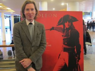 Wes Anderson's visit and other visual highlights from the live screening of Napoleon - image