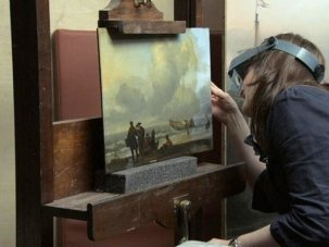National Gallery review: Fred Wiseman behind the scenes at the museum - image