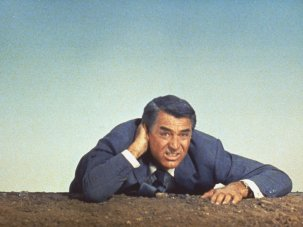 Is North by Northwest the ultimate origin story?