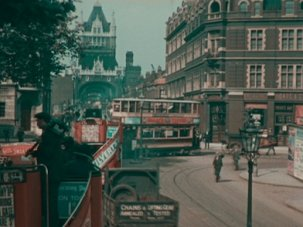 BFI archive footage of 1920s London goes viral - image