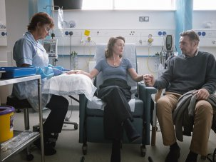Ordinary Love review: Lesley Manville and Liam Neeson buckle before the grim reaper - image