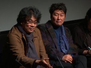 Video: Parasite director Bong Joon-ho and star Song Kang-ho - image