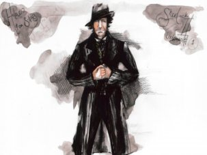 Dressing Sherlock, Bertie and Judi Dench: a look inside the archive of costume designer Jenny Beavan - image
