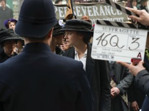 The making of Suffragette: 'These women are warriors' - image