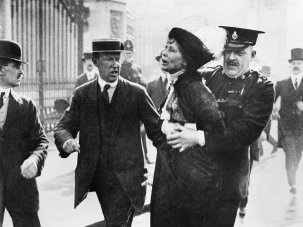 Suffragettes in film