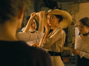 Sunset first look: a belle epoque a hatstand of a movie - image