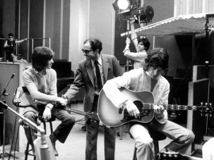 Rare images of Jean-Luc Godard hanging out with The Rolling Stones  - image