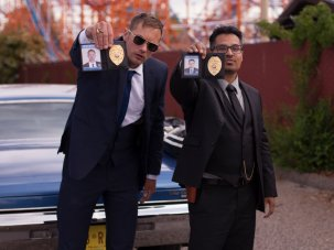 Michael Peña and John Michael McDonagh on corrupt cop comedy War on Everyone - image