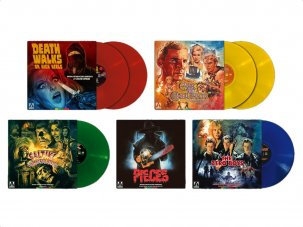 Win a bundle of limited-edition vinyl from Arrow Films