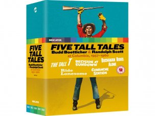 Win Five Tall Tales: Budd Boetticher & Randolph Scott at Columbia, 1957-1960 on Blu-ray